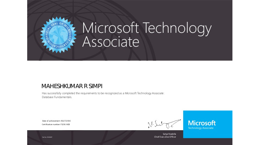 Microsoft Technology Associate (MTA) What is MTA?